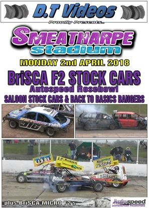 Picture of Smeatharpe Stadium 2nd April 2018 AUTOSPEED ROSEBOWL
