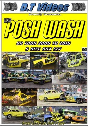 Picture of Posh Wash on Tour 2006 to 2016 BOX SET